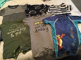 Bundle of baby boy clothes 12-18 months