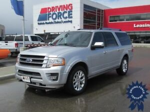 2015 Ford Expedition Max Limited 8 Passenger 4X4, 3.5L V6 Gas