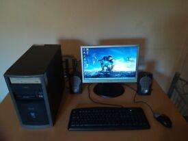 ready to go desktop computer