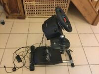 Logitech G29 steering wheel + pedals + shift gear Stand Pro