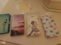 4x Samsung A3 (2015 model) mobile phone cover/wallets New