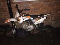 Slam 160cc pitbike