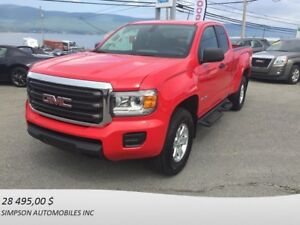 2016 GMC CANYON 4WD EXTENDED CAB