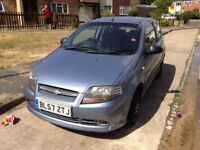 Chevrolet Kalos 1.2 SE 2008 - 2 keys - MOT UNTIL JULY 2019 - LOW MILEAGE