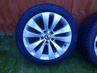 Alloy wheels 17' 5x112 with tyres