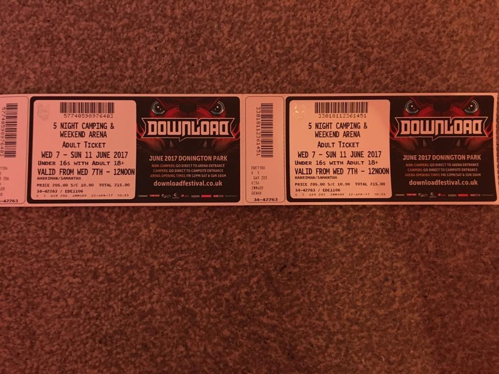 Download festival 5 day camping tickets | in costessey, norfolk.