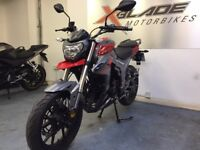 Lexmoto Viper 125cc Manual Motorcycle, EFI, Euro 4, Brand New, Ex Demo, ** Finance Available **