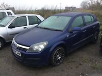 2004 VAUXHALL ASTRA 1'6 engine nice driving car ideal cheap runabout any trial welcome px considere