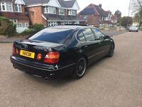 LEXUS GS300 3.0 SE AUTO BLACK *LPG* FSH LPG 1 YEAR WARRANTY LOVELY CAR