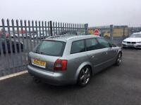 2003 Audi A4 1,9 litre diesel 5dr estate