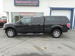 2010 Ford F-150 crew cab--- option remorquage, gros miroirs came