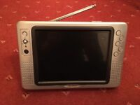 """8"""" Portable Digital TV with remote - In box"""