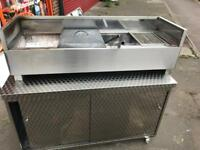 Turkish BBQ mangal charcoal grill commercial catering kitchen equipment restaurant takeaway kebab