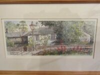 Framed Picture / Print of 'Dove Cottage', Grasmere (William Wordsworth's Home) by Colin Williamson