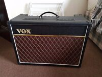 Vox AC15C1 Guitar Amplifier with Trifibre HTV Flightcase and Vox Footswitch
