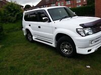 Toyota Landcruiser 8 Seater 4x4 diesel 3.0l Automatic Full Body Kit £4200ono
