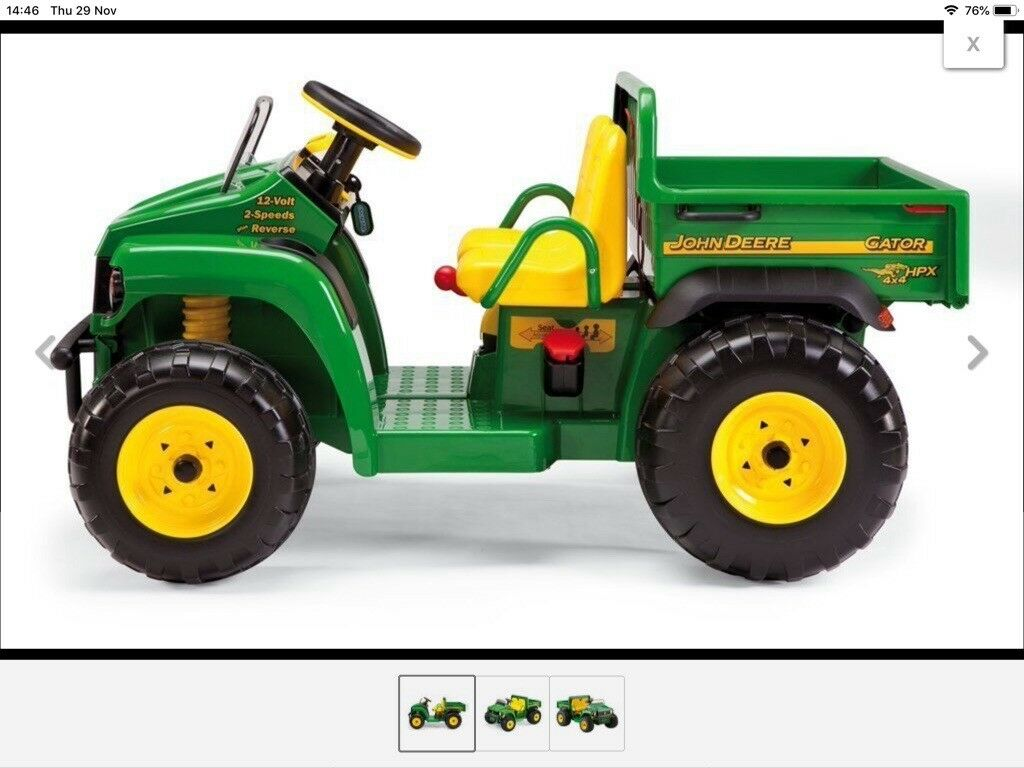 new kids john deere gator | in aberdeenshire | gumtree