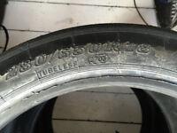 Slick Trackday Drift Drag Tyres Dunlop Part Worn 280/650/R18