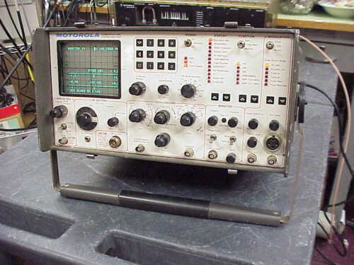 Motorola R-2001C Communications Service Monitor-Tested and Calibrated