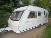 Abbey County Warwick 5 berth 1998 touring caravan
