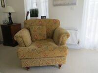 Ashley Manor Balmoral suite 2 x 2 seater sofa @ £75 ea, 1 armchair @ £65