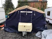2009 trailer tent caravan trigano 4 berth vgc with awning
