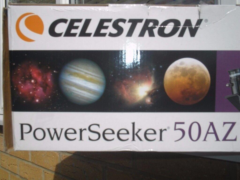 Fabulous telescope u2013 celestron powerseeker 50az with stargazing dvd