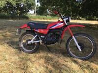 1981 Yamaha Dt175mx registered mot v5 Dt175 Classic dt 175 mx Enduro twin shock