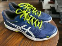 ASICS Gel Rocket 6 court shoes UK9 EU43.5 in immaculate condition.