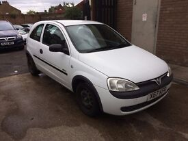 Vauxhall Corsa 1.7 Di 16v GLS 3dr p/x welcome, PART EXCHANGE TO CLEAR
