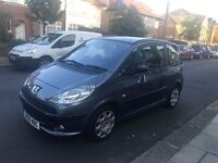 2007 peugeot 1007 1.6 DOLCE automatic , LOW MILEAGE 37000 , part exchange welcome