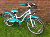 Girls apollo mountain bike 20inch wheels