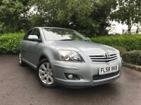 2008 (58) Toyota Avensis 1.8 VVT-i TR auto FULL TOYOTA SERVICE HISTORY EXCELLENT CONDITION 2 OWNERS