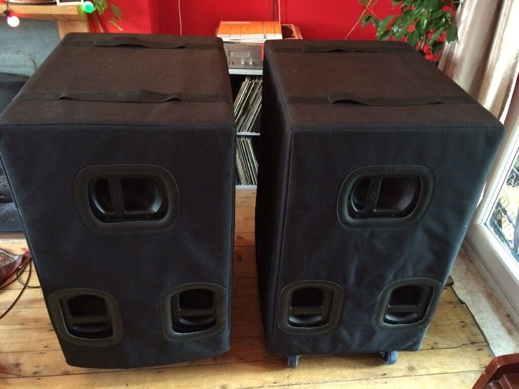 2-RCF-TTS18-A-Active-High-Power-Subwoofer-SLIGHTLY-USED-with-fitted-covers  | in Kings Worthy, Hampshire | Gumtree