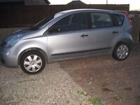 Nissan Note Visia 08 Reg, Service History, Lady Owner £2,450