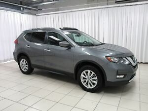 2018 Nissan Rogue INCREDIBLE DEAL!! SV AWD SUV w/ SUNROOF, BLIND