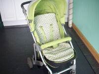 LUNA LIME GREEN PUSHCHAIR BUGGY PORTH AREA