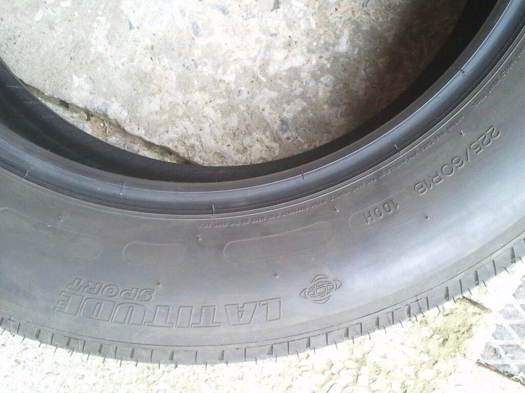 michelin tyre 225/60/r18