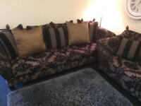 Luxury 3/4 Seater & Chair.