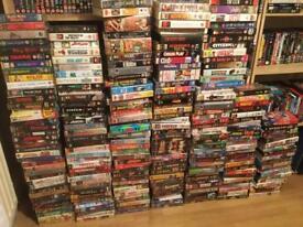 250+ VHS videos
