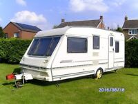 ABBEY COUNTY STAFFORD, 5-BERTH TOURING CARAVAN