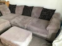 Large corner sofa bed for sale - Reduced! £400 ONO