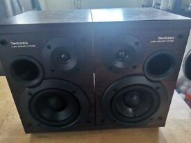 TECHNICS 2 WAY BI-WIRE SPEAKERSYSTEM SB--HD501