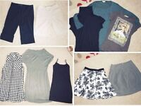 Womens Clothing Sz 8 S Wholesale Joblot Dresses Tops Skirts Pants Bulk FCUK Zara Louis Charles H&M