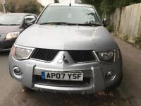 Mitsubishi L200 warrior 2007 mot expired high mileage £2500 NO OFFERS NO TEXTS car arrives Saturday