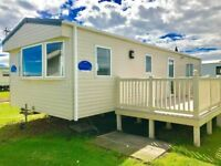 🌟DG & CH STATIC CARAVAN WITH DECKING FOR SALE AT CRESSWELL TOWERS HOLIDAY PARK 12 MONTH SEASON🌟