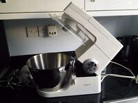 White Keyword Chef mixer system