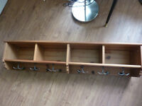 IKEA Leksvik Coat Rack and Large Shelf - storage etc
