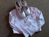 Pink girls tap shoe size 13