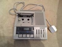 SONY BM-147 Four Track Transcription Transcriber WITH 2X Foot Controllers